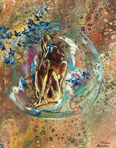 Diana MALIVANI - Gemälde - Solitude