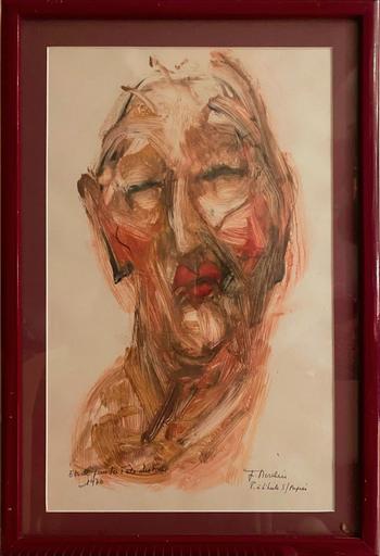 Jean MOULIN - Painting - Étude pour la fête des pères 2