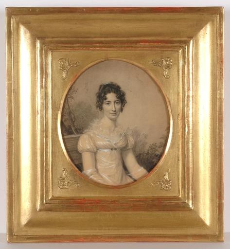 "Miniatur - ""Portrait of a Lady"", ca.1810, Drawing"