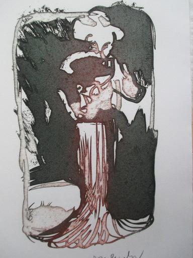 皮埃尔·阿列钦斯基 - 版画 - Ces Robes qui m'evoquaient Venise