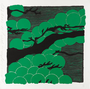 Donald SULTAN - Print-Multiple - Japanese Pines