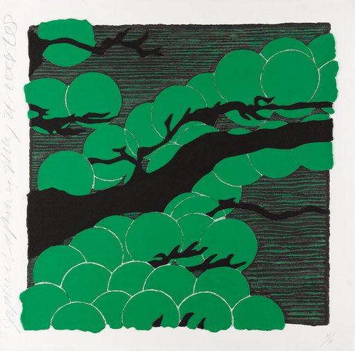 Donald SULTAN - Print-Multiple - Japanese Pines