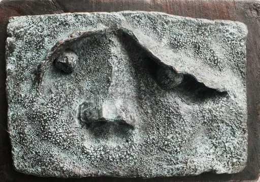 Javier CLAVO - 雕塑 - Face
