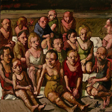 Jörg HERMLE - Pintura - Herbes civilisées