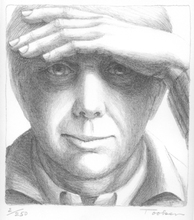 George TOOKER - Print-Multiple - Self Portrait