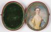 "Anton Rafael MENGS - Miniature - ""Portrait of aristocratic lady"" miniature, ca 1765"