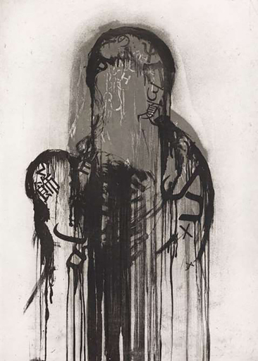 Jaume PLENSA - Druckgrafik-Multiple - Untitled #2