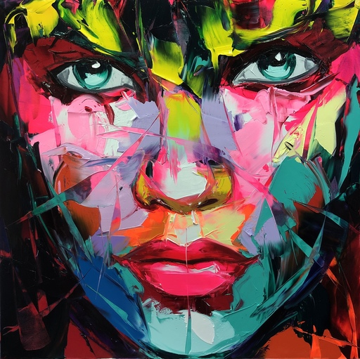 Françoise NIELLY - Painting - Lyna