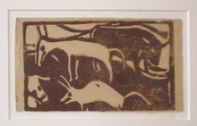 Christian ROHLFS (1849-1938) - Tiere auf der Weide