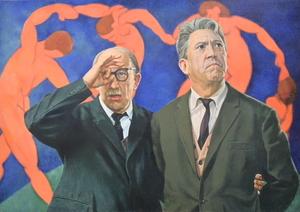 Vladimir KOLESNIKOV - Painting - Untitled (Dance)
