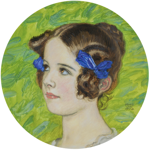 Franz VON STUCK - Painting - Tochter Mary