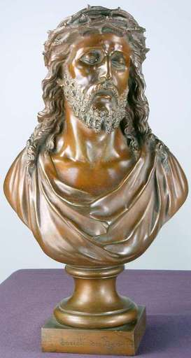 Jean BULIO - Skulptur Volumen - Jesus Christ