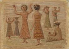 Massimo CAMPIGLI - Painting - Donne