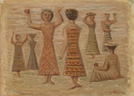 Massimo CAMPIGLI - Pintura - Donne