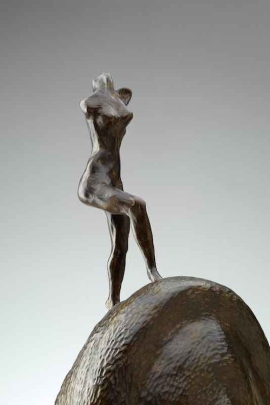 Salvador DALI - Sculpture-Volume - Nude Ascending the Staircase: Homage to Duchamp