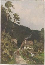 Dezsö KÖSZEGI-FANGH - Pintura - Alpine Village