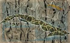 Ibrahim MIRANDA - Drawing-Watercolor - Mapa II