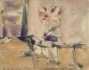 Sergio ROMITI - Peinture - Fiori, 1955