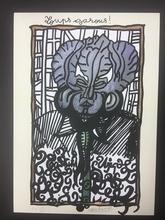 Robert COMBAS - Print-Multiple - Homage to Federico Garcia Lorca
