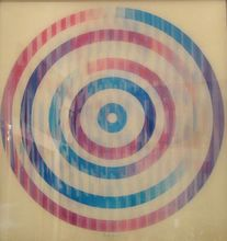 Yaacov AGAM - Estampe-Multiple - Circle Composition