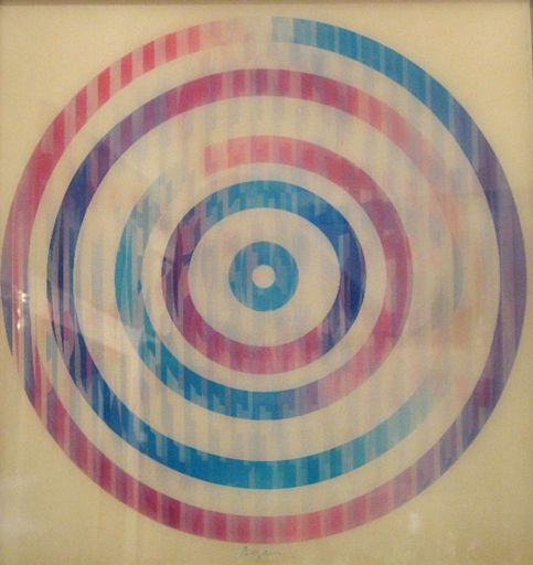 Yaacov AGAM - Stampa-Multiplo - Circle Composition