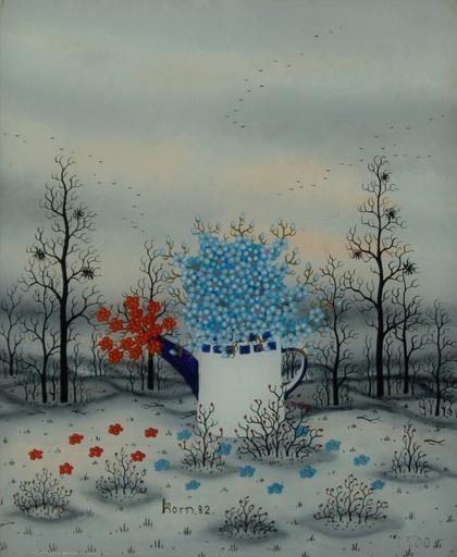 Manfred HORN - Pittura - Frühling