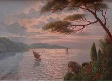 Alwin ARNEGGER - Pintura - Amalfi