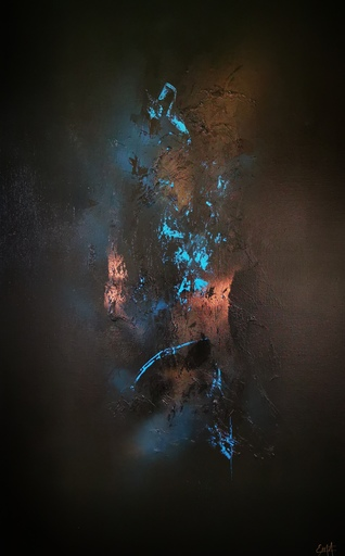 Elodie DOLLAT - Gemälde - Bereshit IV