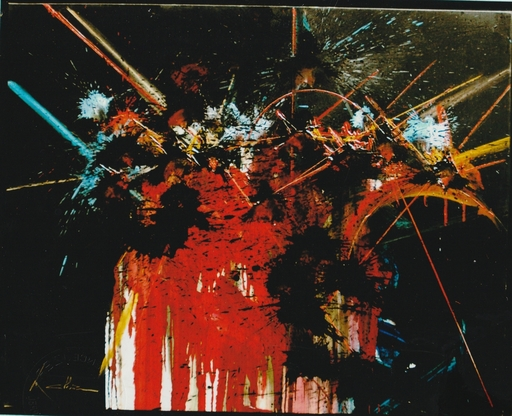Georges MATHIEU - Peinture - OBSESSIONS VIDES