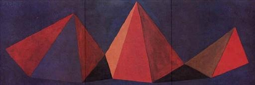 索尔·勒维特 - 版画 - Piramidi VI