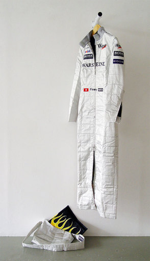 Sylvie FLEURY - Sculpture-Volume - Formula One Dress