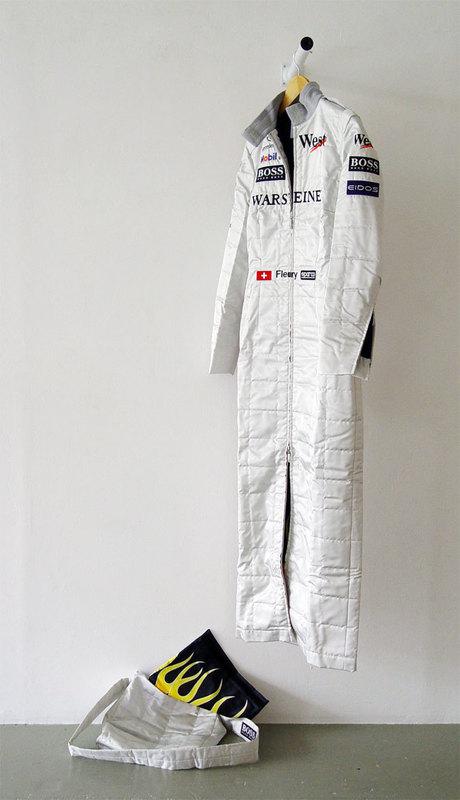 Sylvie FLEURY - Sculpture-Volume - Formula One Dress