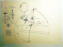 Walter DAHN - Estampe-Multiple - Untitled