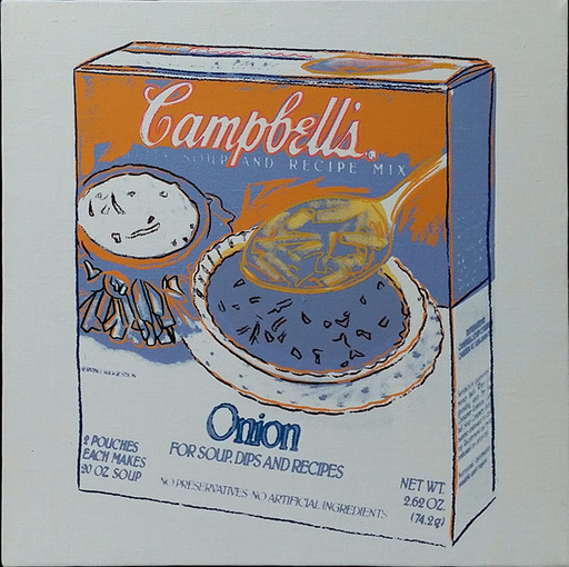 Andy WARHOL - Peinture - Onion Soup