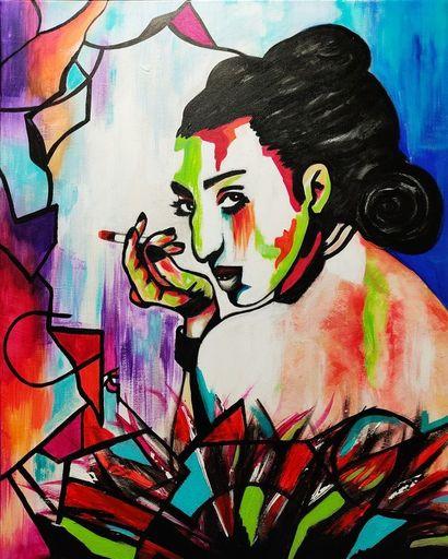 Katie GUITTARD - Peinture - ROSSY DE PALMA 2