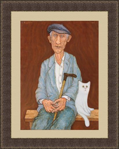 Roman ANTONOV - 绘画 - Old man