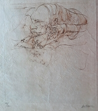 Hans BELLMER - Grabado - The Three Ages of Life, from the Songs of Maldoror