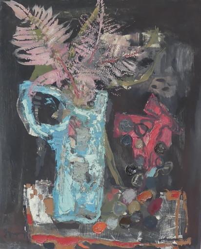 Jean-Claude DRAGOMIR - Painting - Bouquet