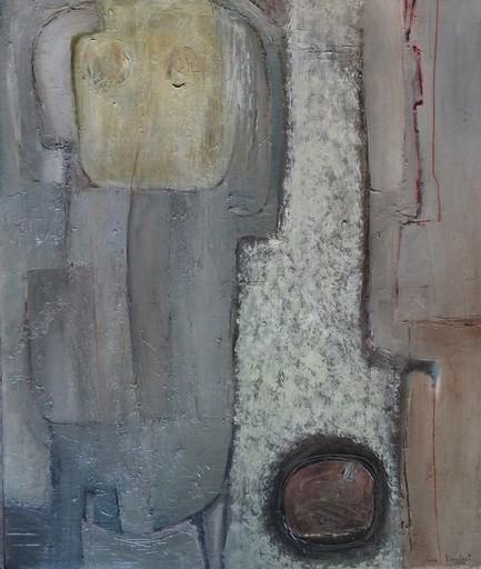 Jean PIAUBERT - Painting - Composition