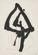 Robert MOTHERWELL (1915-1991) - Beau Geste II