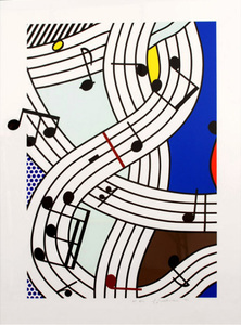 Roy LICHTENSTEIN, COMPOSITION I
