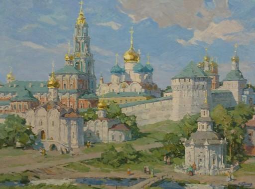 Petr Pavlovich GOLYUKOV - Pittura - Paisaje