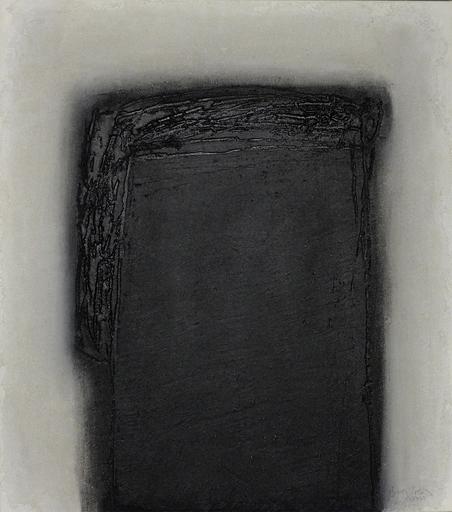 Erwin BECHTOLD - Painting - XXX-10 Dunkle Statur