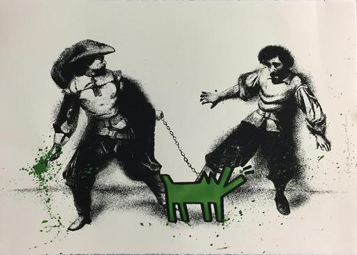 MR BRAINWASH - Estampe-Multiple - Watch Out! (Green)