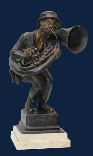 Achille D'ORSI - Sculpture-Volume - L'usignolo