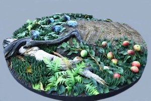 Piero GILARDI - Sculpture-Volume - Megalite nel bosco