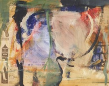 Willem DE KOONING - Peinture - Untitled, for Tiny McGee
