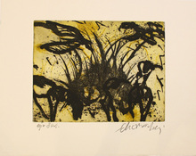 Emil SCHUMACHER - Print-Multiple - 2/1994