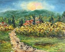 Diana MALIVANI - Pittura - On the Way Home