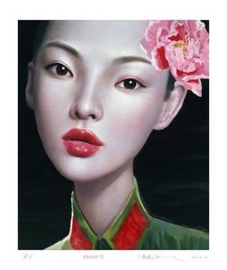 LING Jian - Estampe-Multiple - Peony